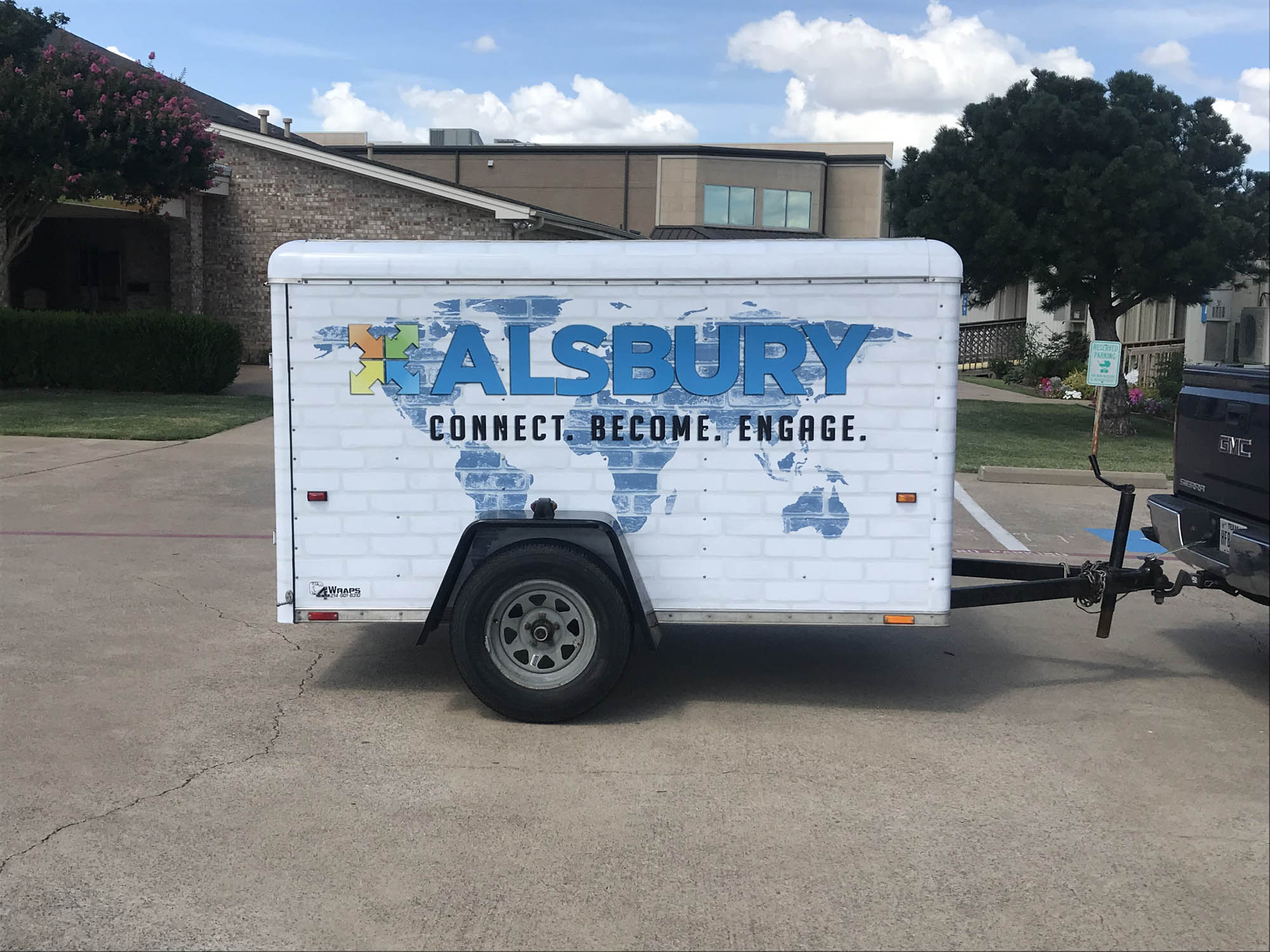 Alsbury Baptist Trailer