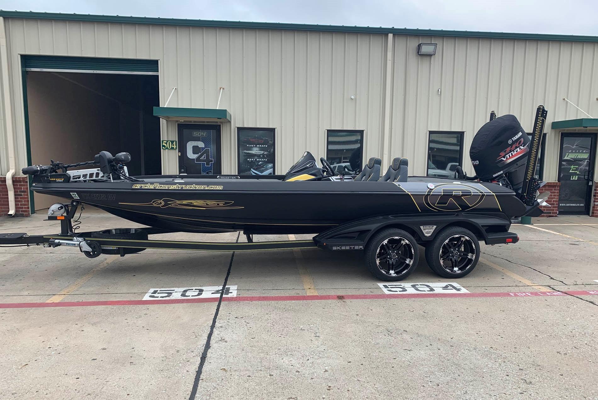 Riney Skeeter Bass Boat Wrap