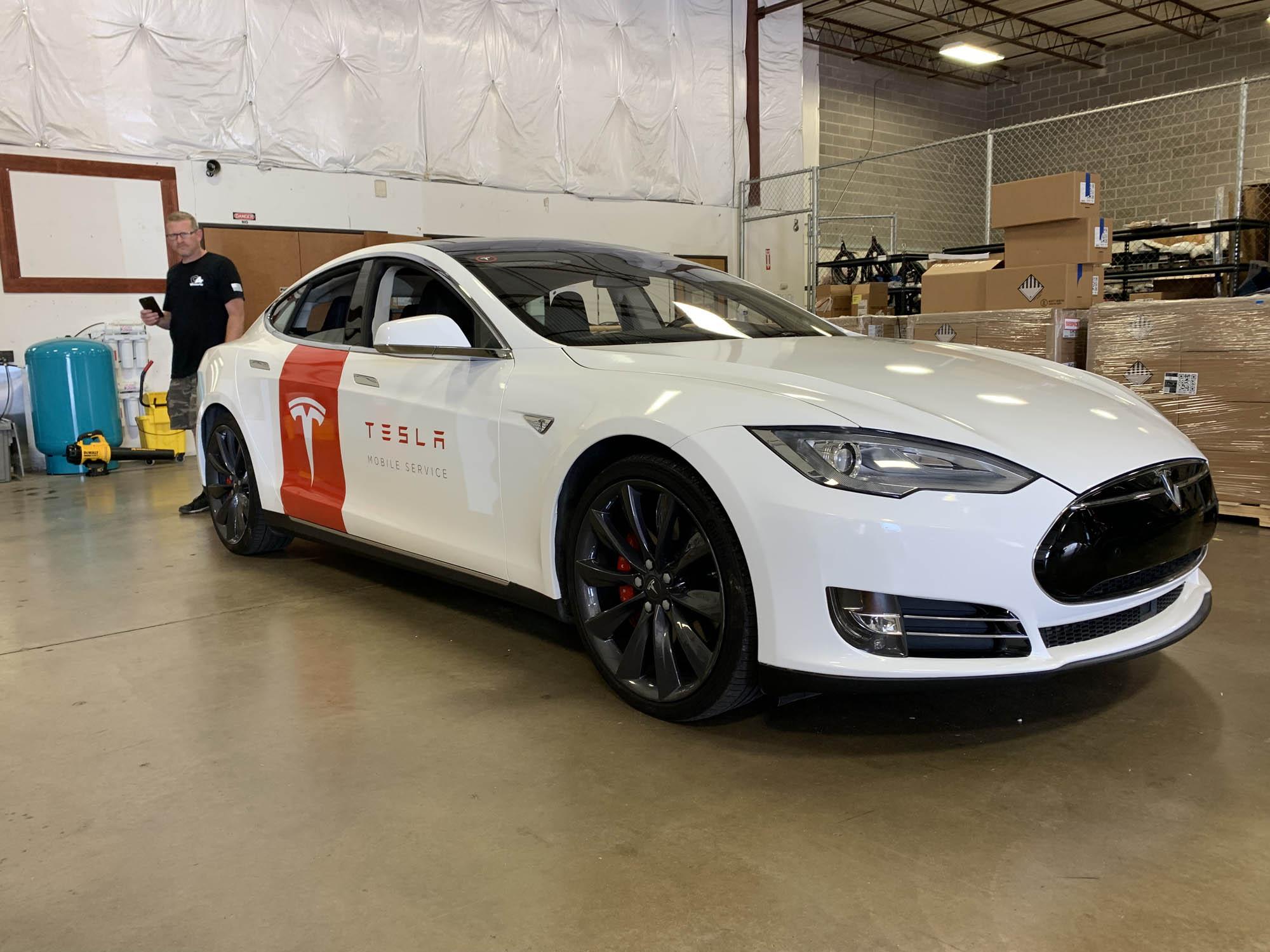 Tesla Energy Model S Wrap