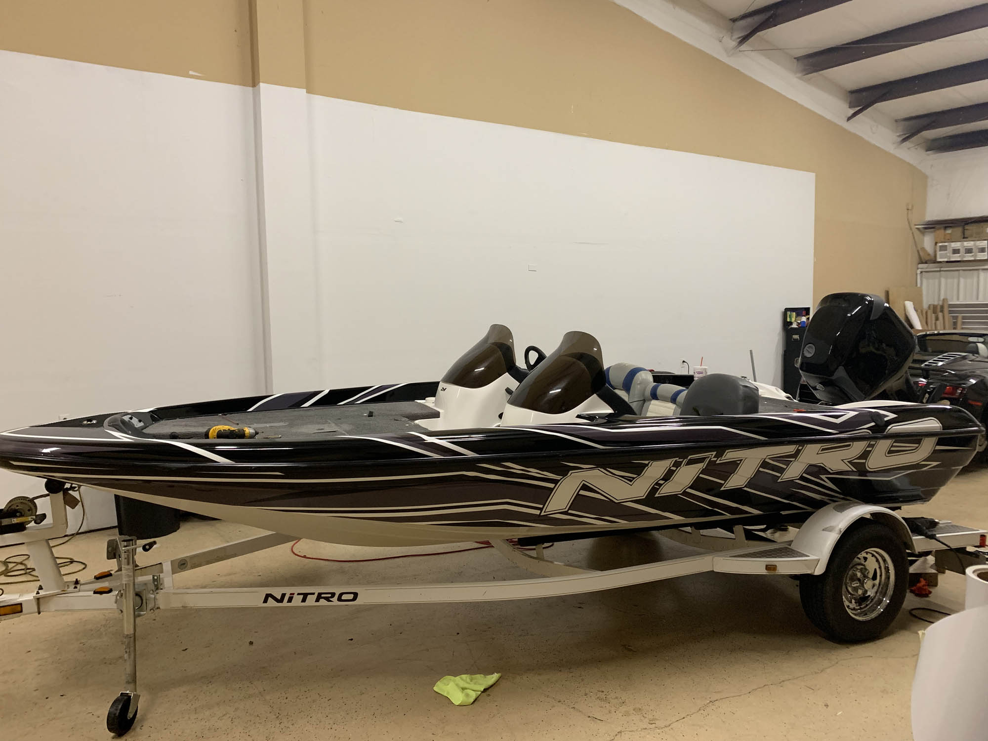 Nitro Bass Boat Wrap