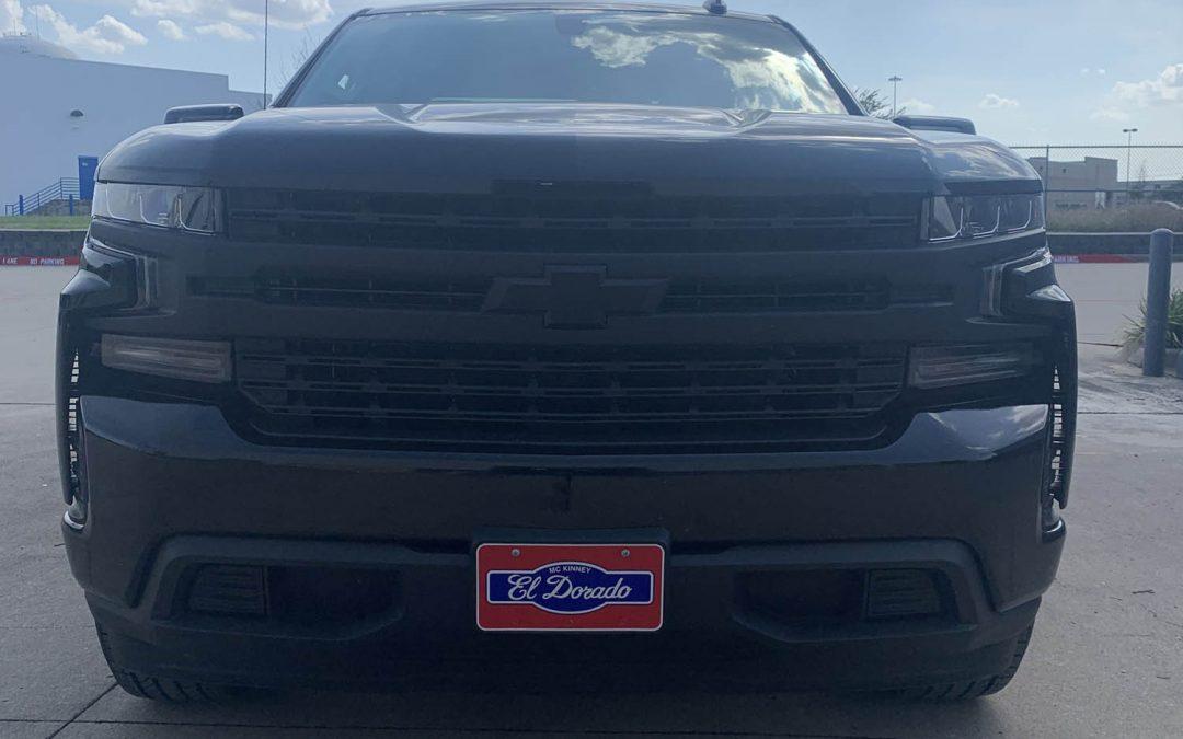 Chevy Silverado Color Match Bumper Wrap