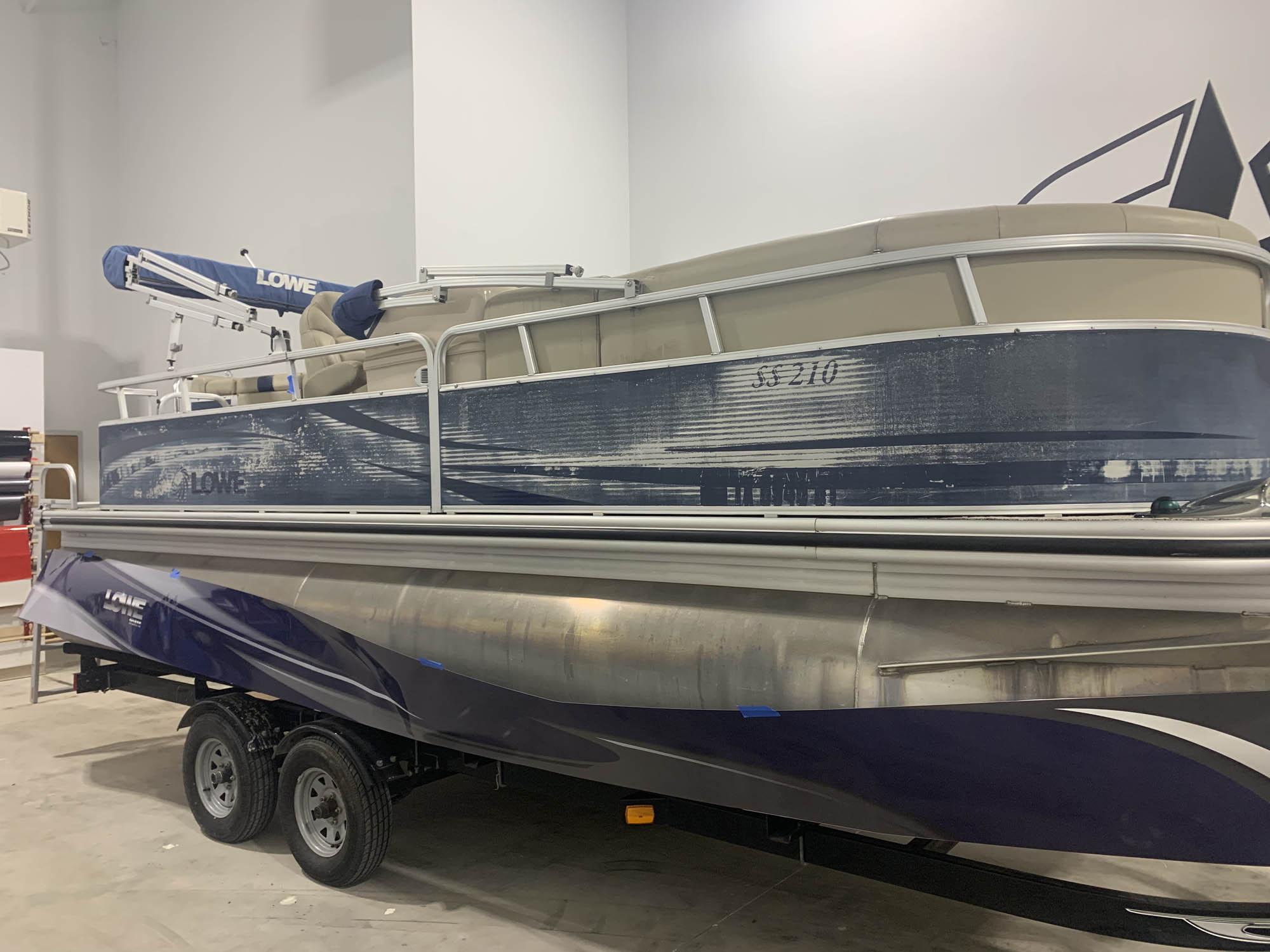 Pontoon Boat Wraps