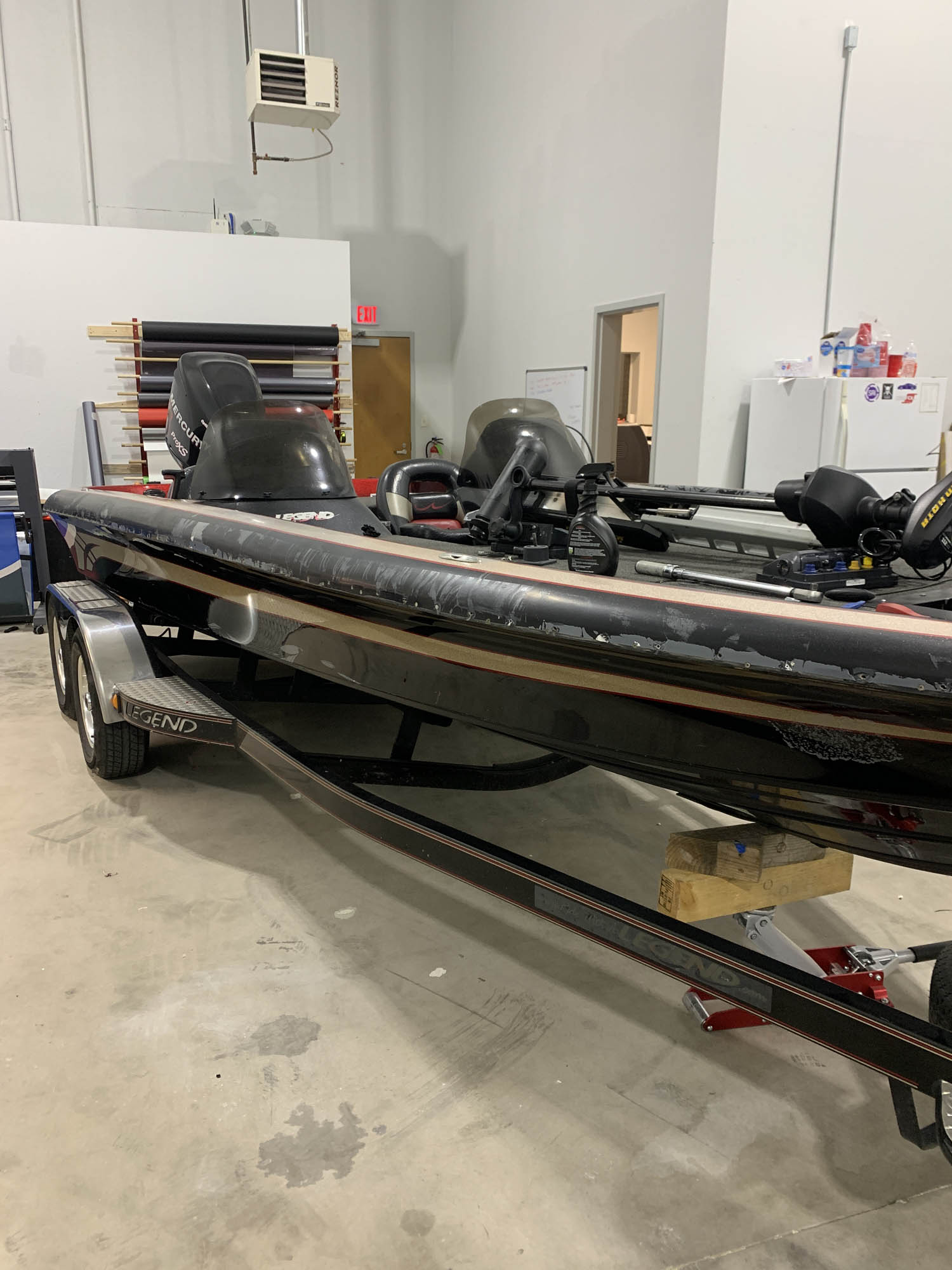 Legend Bass Boat Wrap