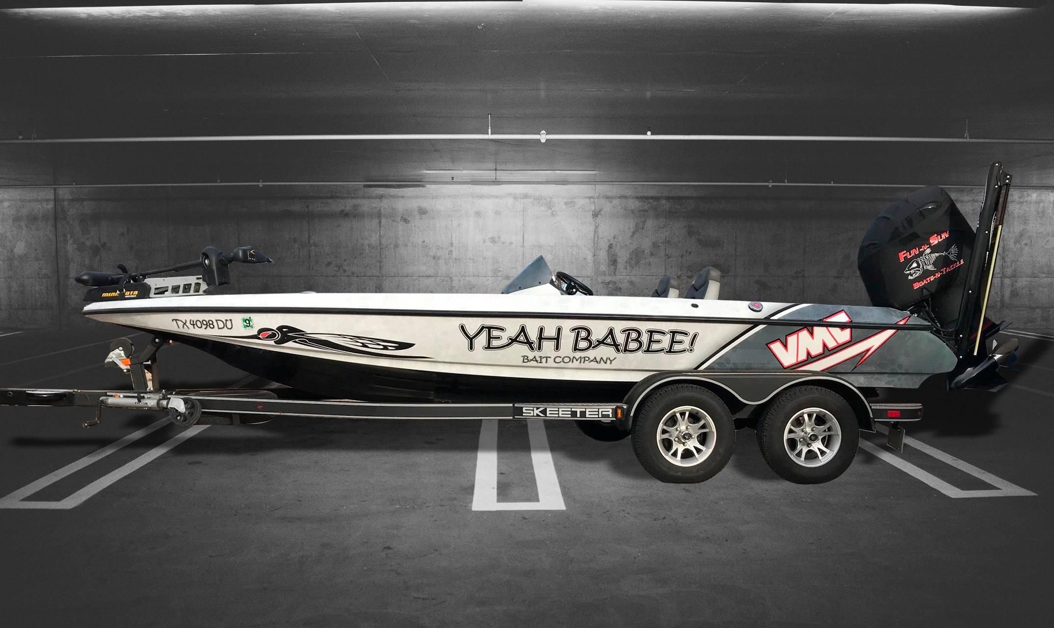 Skeeter-Bass-Boat-Wrap-Yeah-Babee-Garage