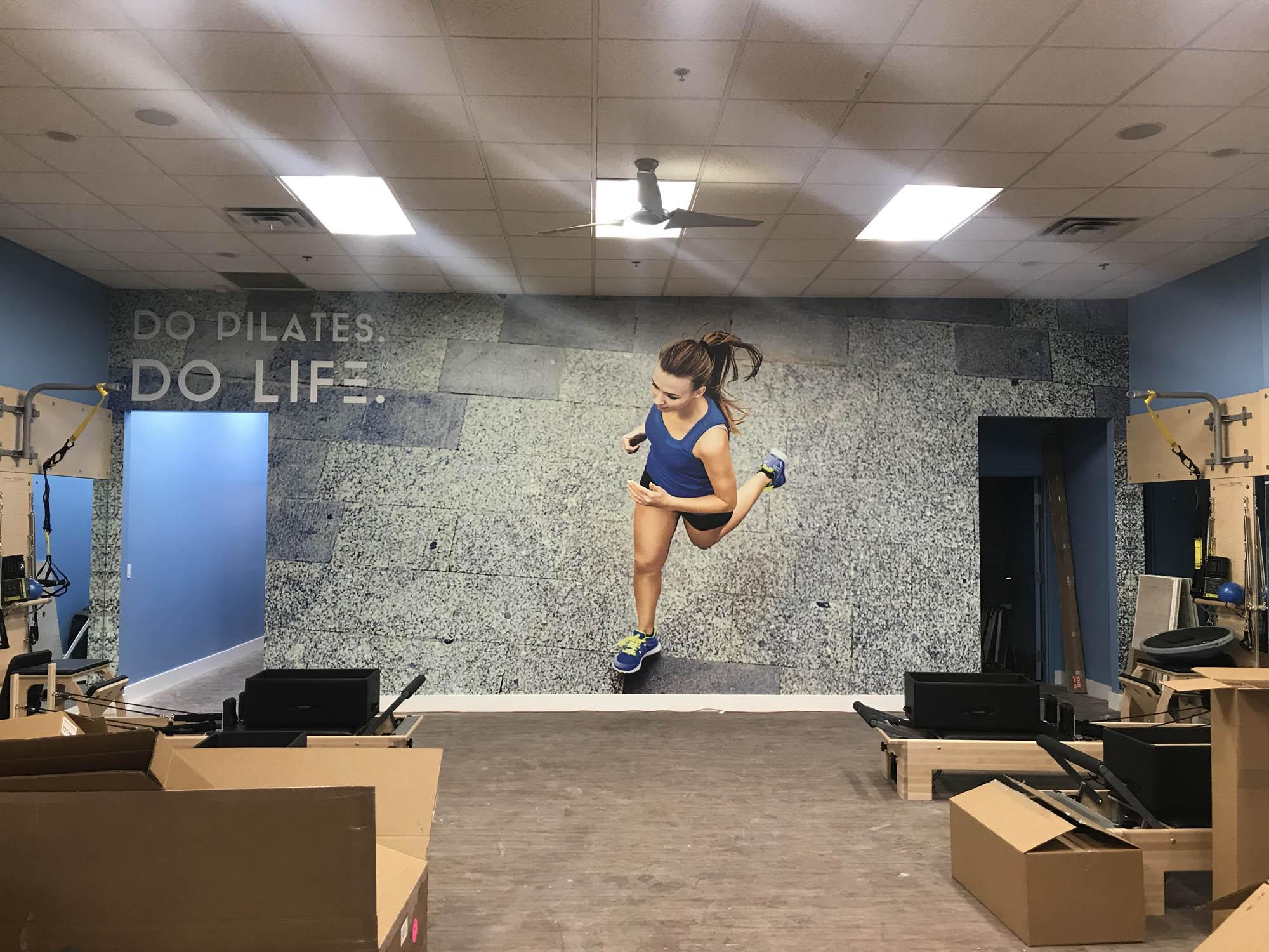 Club Pilates Wall Wraps