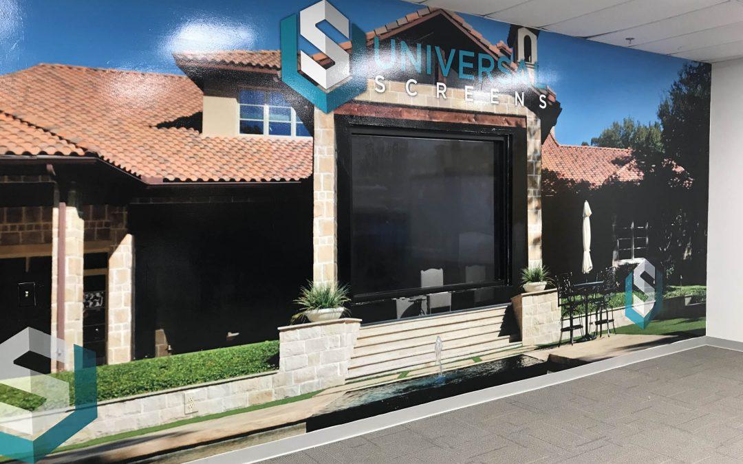 Universal Screen Wall Wrap