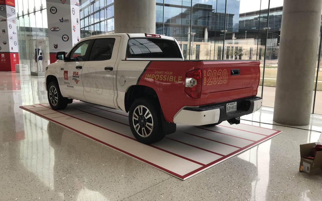 Toyota Tacoma Corporate Branding Wrap