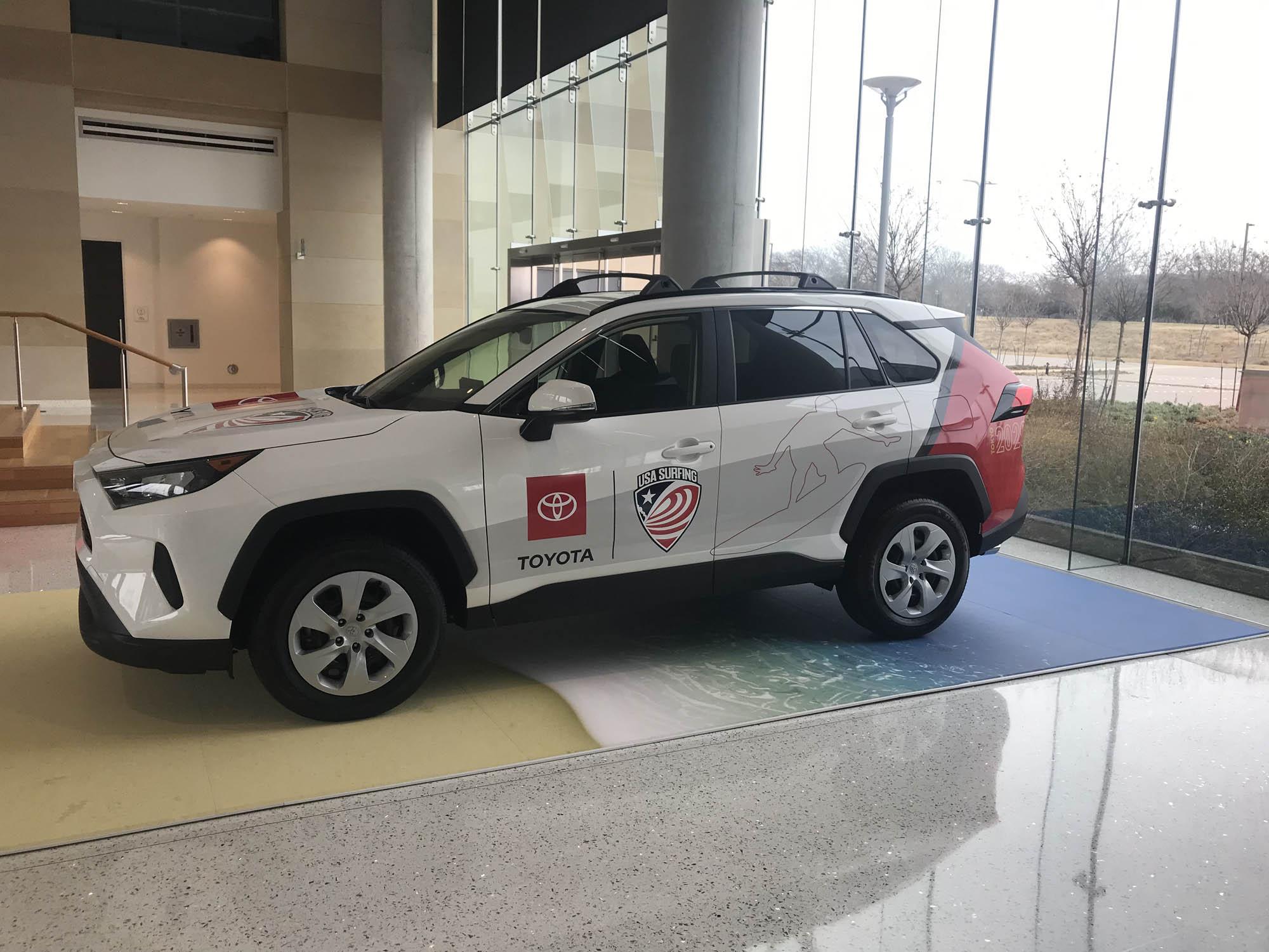 Toyota Corporate Branding Wraps